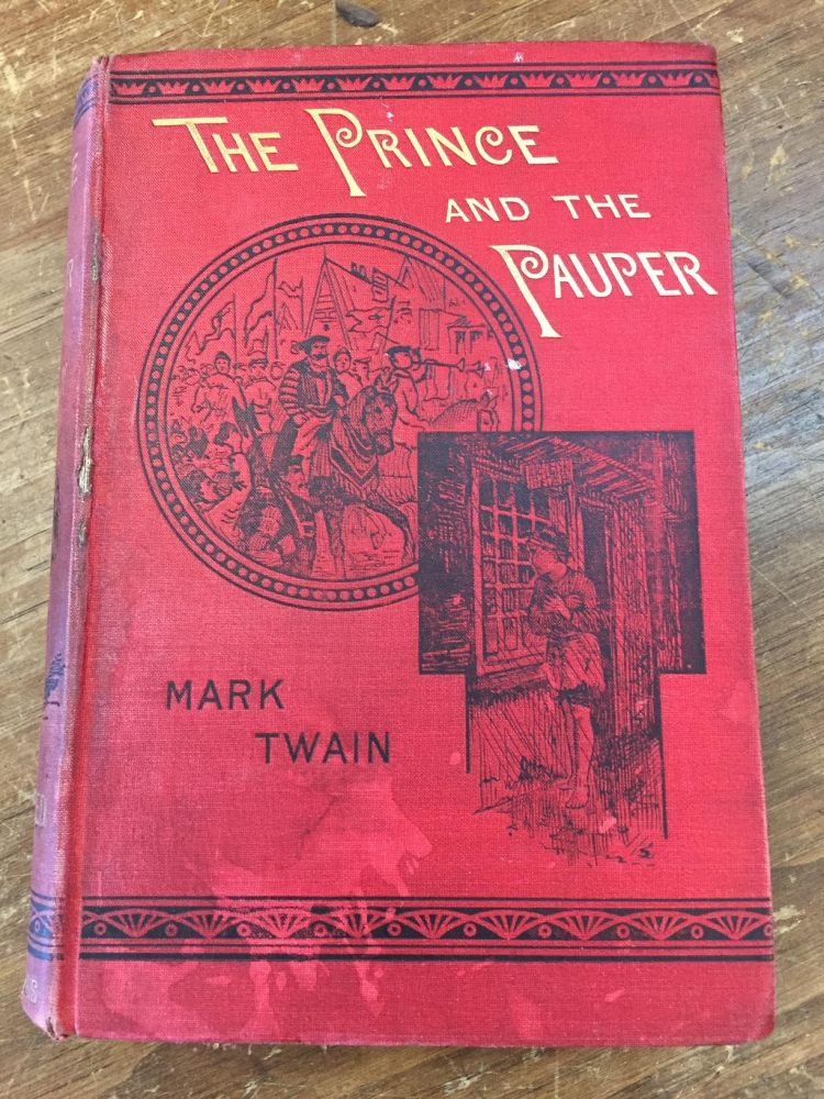 THE PRINCE AND THE PAUPER. Mark Twain.