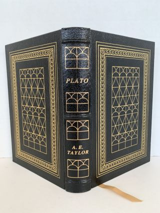 PLATO, THE MAN AND HIS WORK (THE LIBRARY OF GREAT LIVES). A. E. Taylor