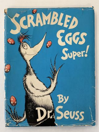 SCRAMBLED EGGS SUPER! (SIGNED, FIRST EDITION/FIRST PRINTING)